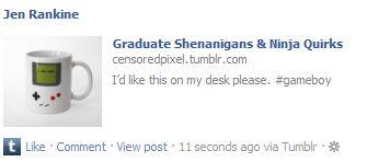 Tumblr link title in Facebook is the same as the title of your Tumblr blog